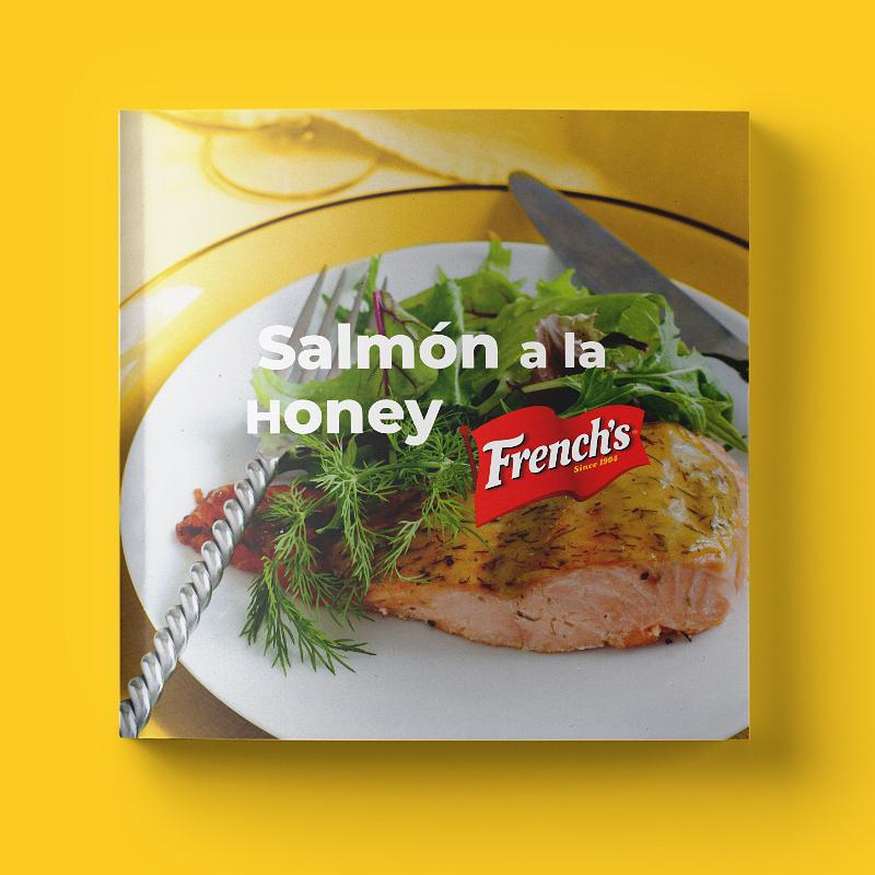Salmón a la honey French's